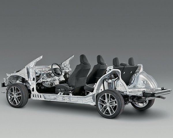 トヨタ 新開発 プラットフォーム